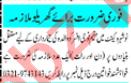 Domestic Staff Jobs 2020 in Peshawar
