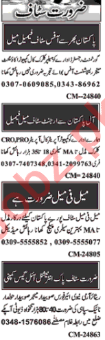 Branch Manager & Account Manager Jobs in Islamabad