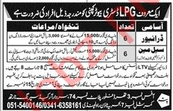 Driver & Salesman Jobs 2020 in Rawalpindi