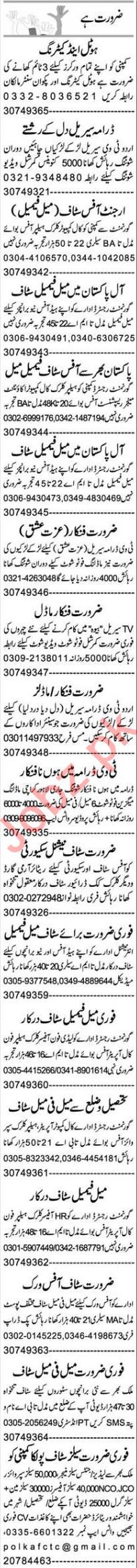 Assistant Supervisor & Web Developer Jobs 2020 in Faisalabad
