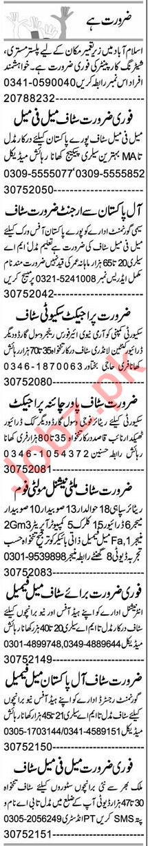 Public Dealing Expert & Supervisor Jobs 2020 in Peshawar