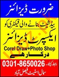 Expert Designer & Graphic Designer Jobs 2020 in Faisalabad