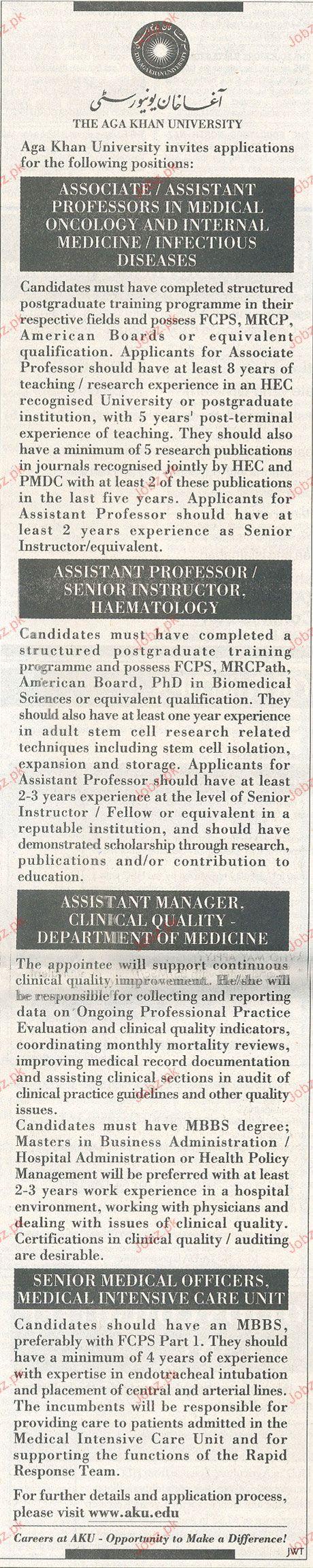 Associate / Assistant Professor Job Opportunity