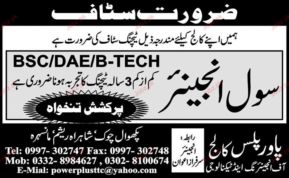 Civil Engineers Job Opportunity