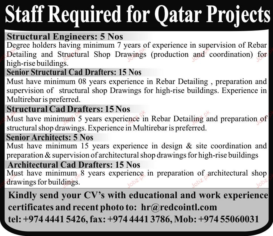 Delicieux Structural Engineer, Senior Architects Job Opportunity
