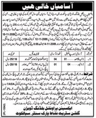 Provincial Buildings Division Sialkot Job Opportunities