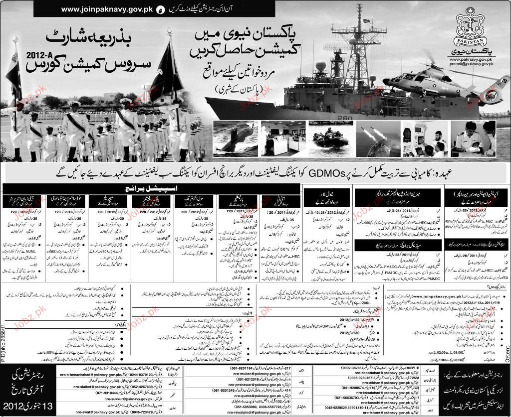 recruitment in pakistan navy 2019 job advertisement pakistan