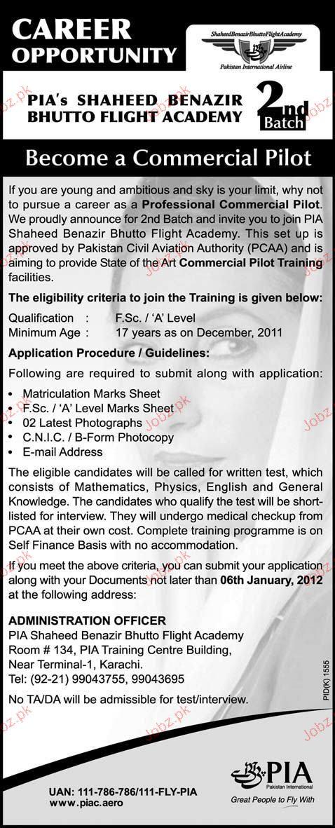 Professional Commercial Pilot Job Opportunity 2019 Job