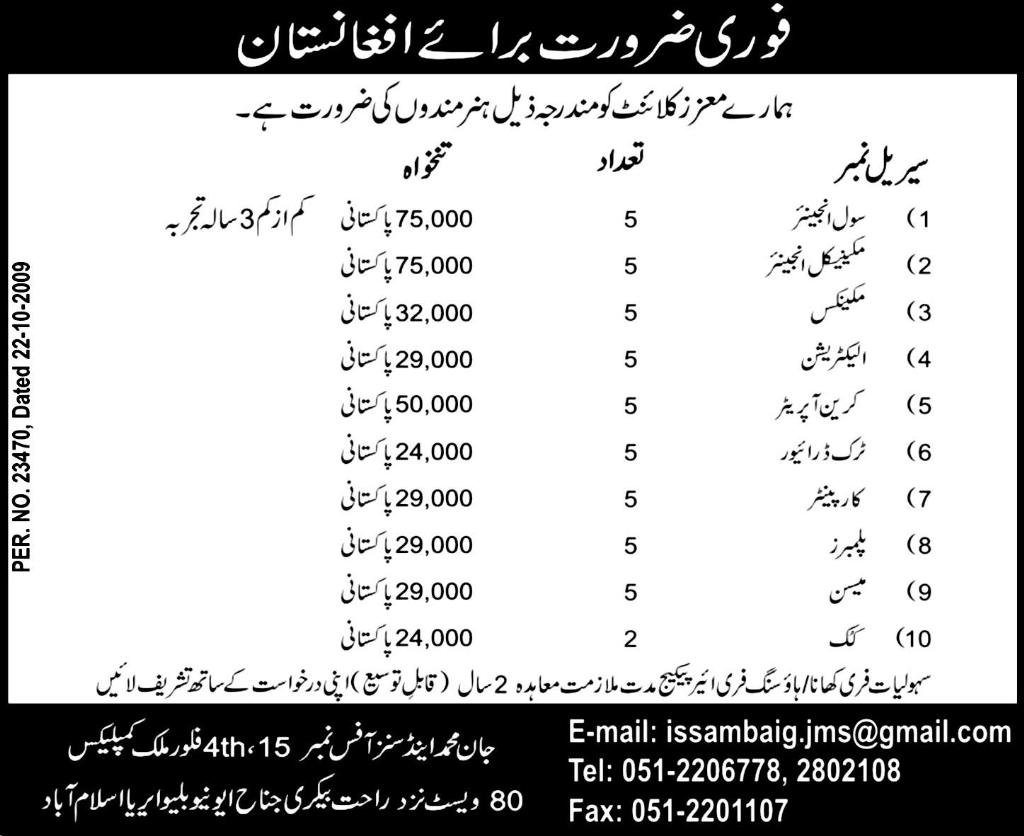 Civil Engineering and Mechanical Engineering Required