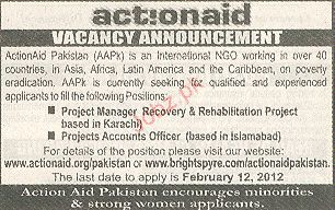 Project Manager and Project Accounts Officer Wanted