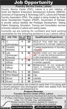 IT Administrator, Foundry Workers Job Opportunity