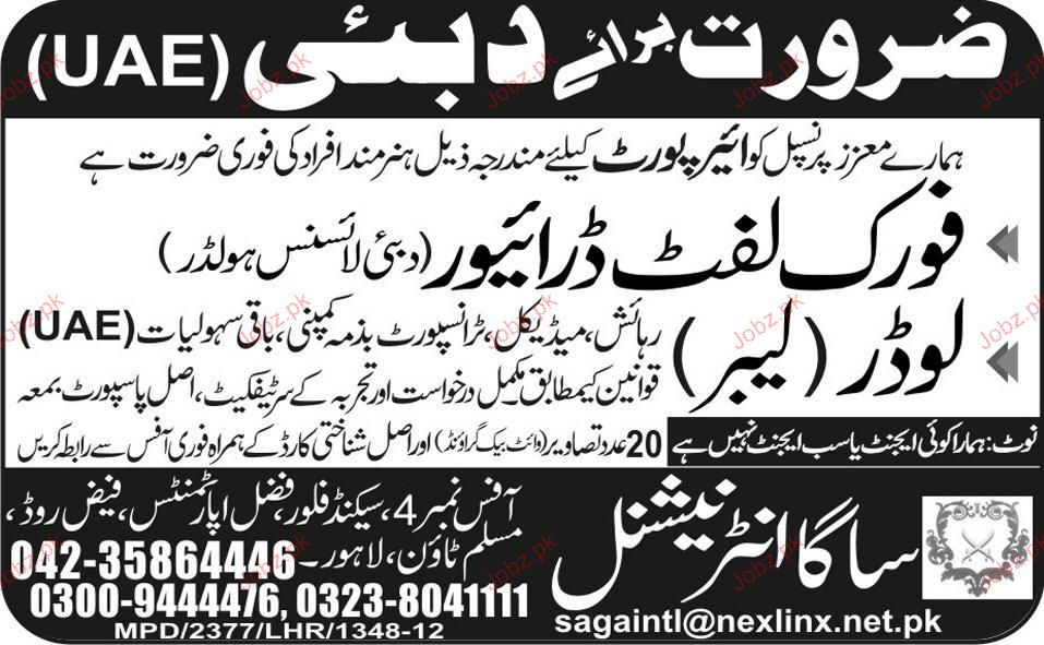 Fork Lift Drivers And Loaders Job Opportunity 2019 Job