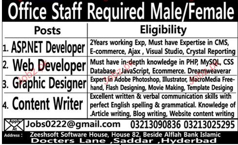Asp Net Developer Web Developer Job Opportunity 2019 Job