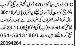 Sweeper Jobs in Islamabad