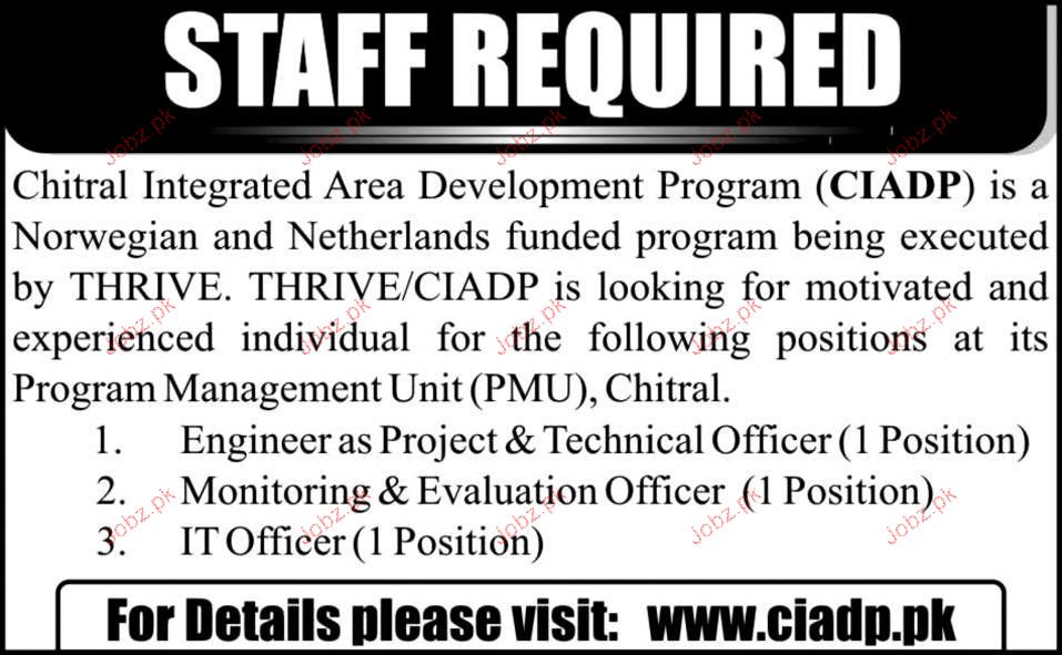 Technical Officer, Monitoring & Evaluation Officer Required