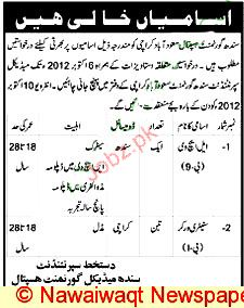 Lady Health Visitors and Sanitary Workers Job Opportunity