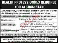 Health Professionals Job Opportunity