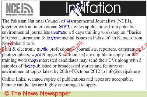 Cameramen, Photographers, Journalists Job Opportunity