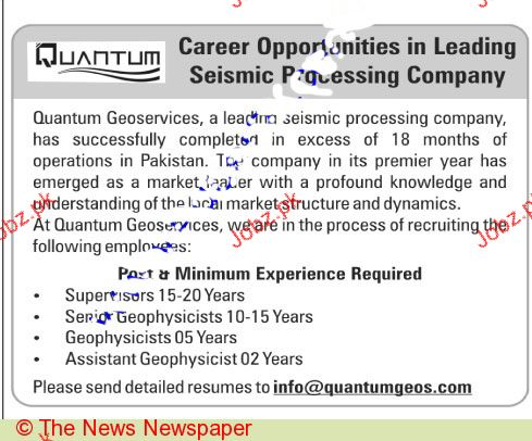Market Leader Job Opportunity