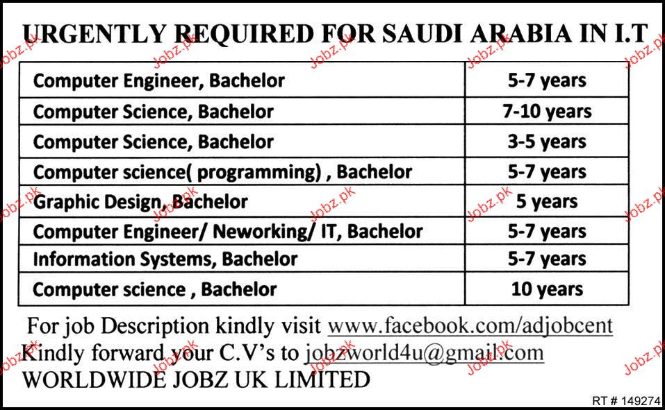 Computer Engineer Graphic Designers Job Opportunity  Jobs Pakistan