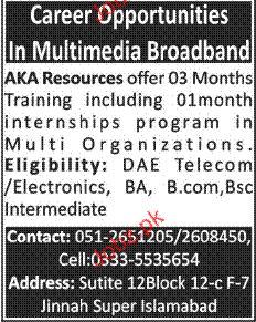 DAE Diploma Holders Job Opportunity