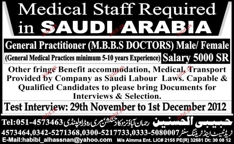 Doctor Job Advertisement Doctors Job Opportunity