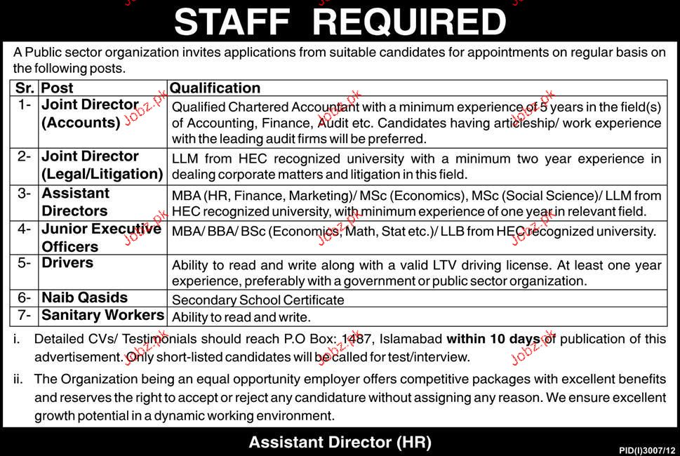 Joint Director Accounts, Joint Director Legal Required