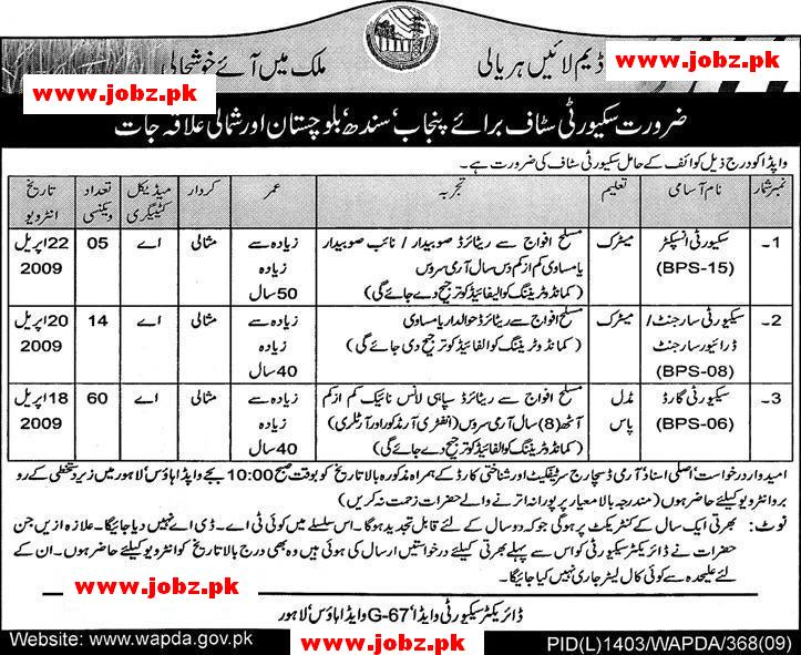 Wapda Jobs 2019 Job Advertisement Pakistan