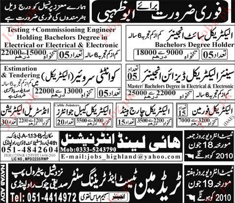 Quality Surveyor, Electrical Site Engineer Vacancy