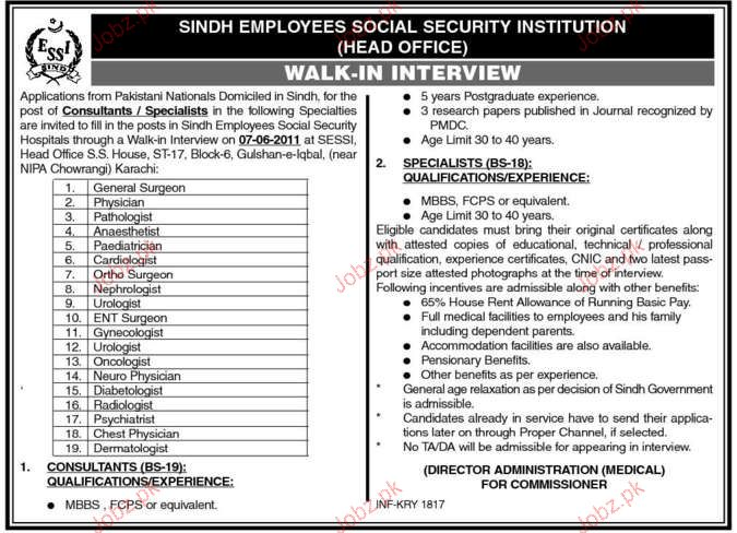 sindh employees social security instituition