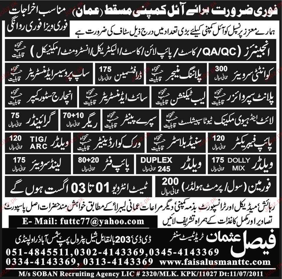 Engineer, Planing Manager, Draftsman Job Opportunity