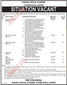 Data Entry Operator, Junior Clerk, Cook job Opportunity