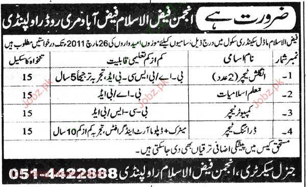Teacher Job Opportunity