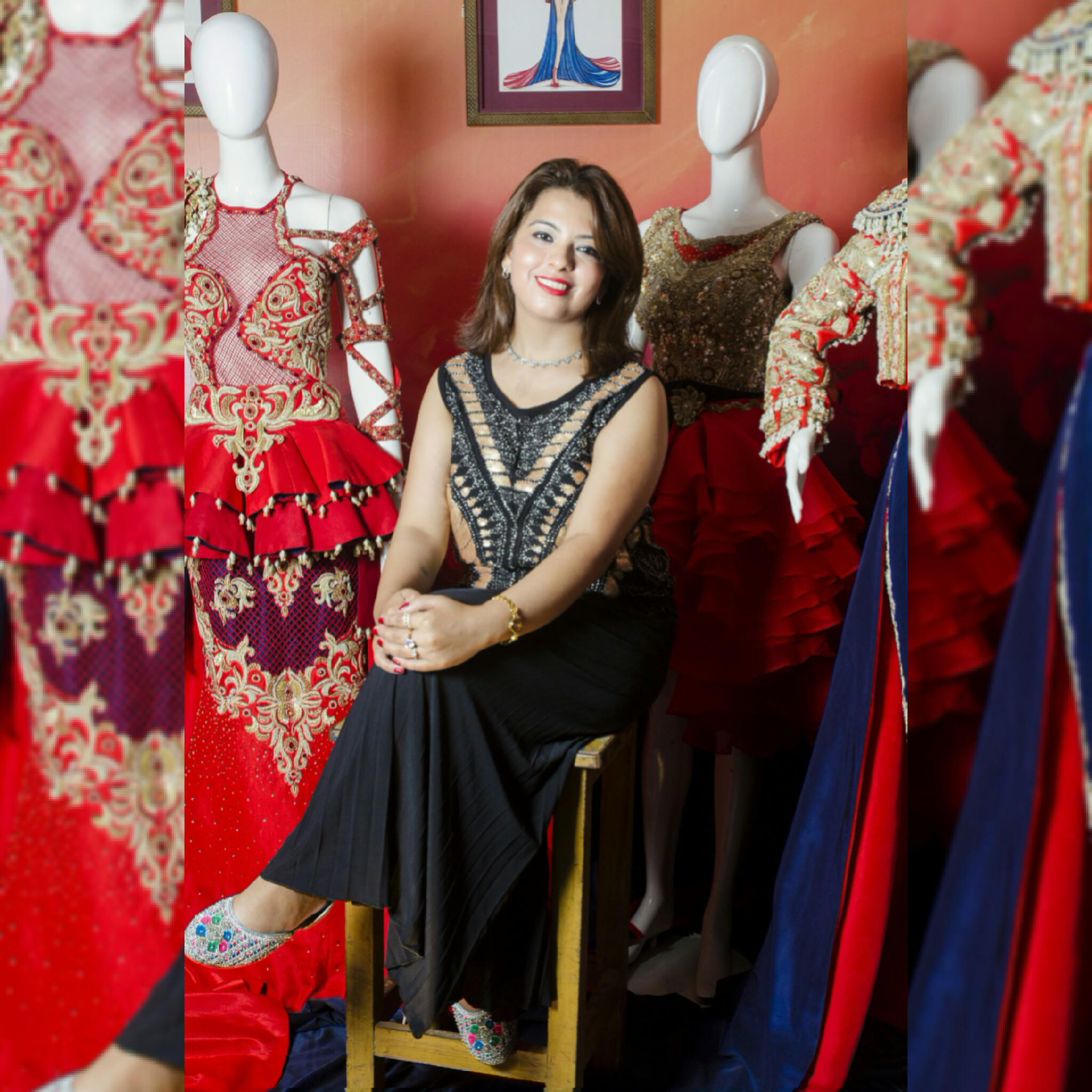 Rekha Jeswani Iqra University Fashion Design Karachi