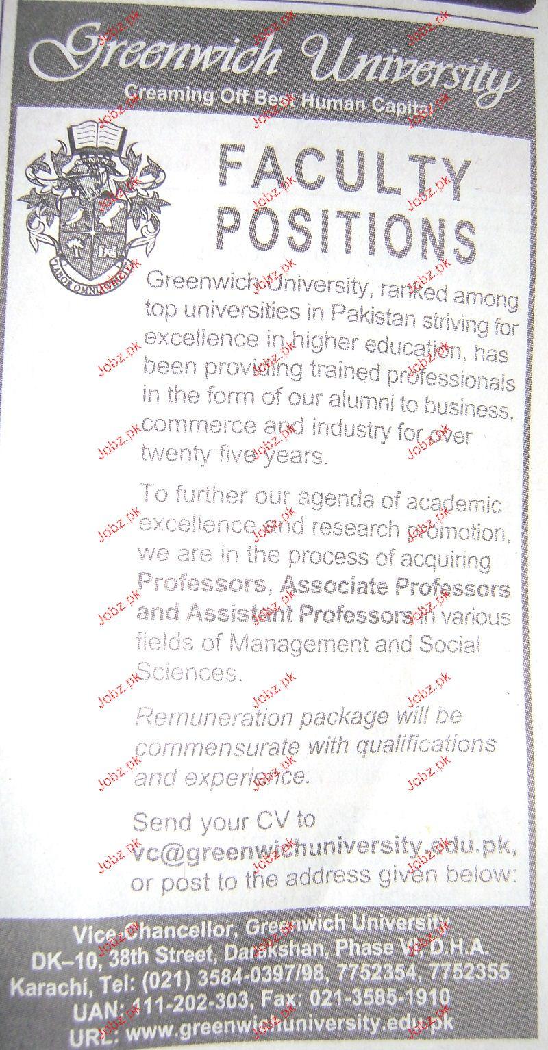 Assistant Professors Job Opportunity