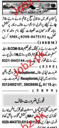 Naw e Waqat Classified Marketing Manager Job Opportunity