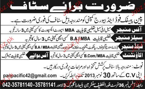 Office Manager, Sales Manager Job Opportunity