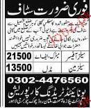Sales Officers and Salesman Job Opportunity