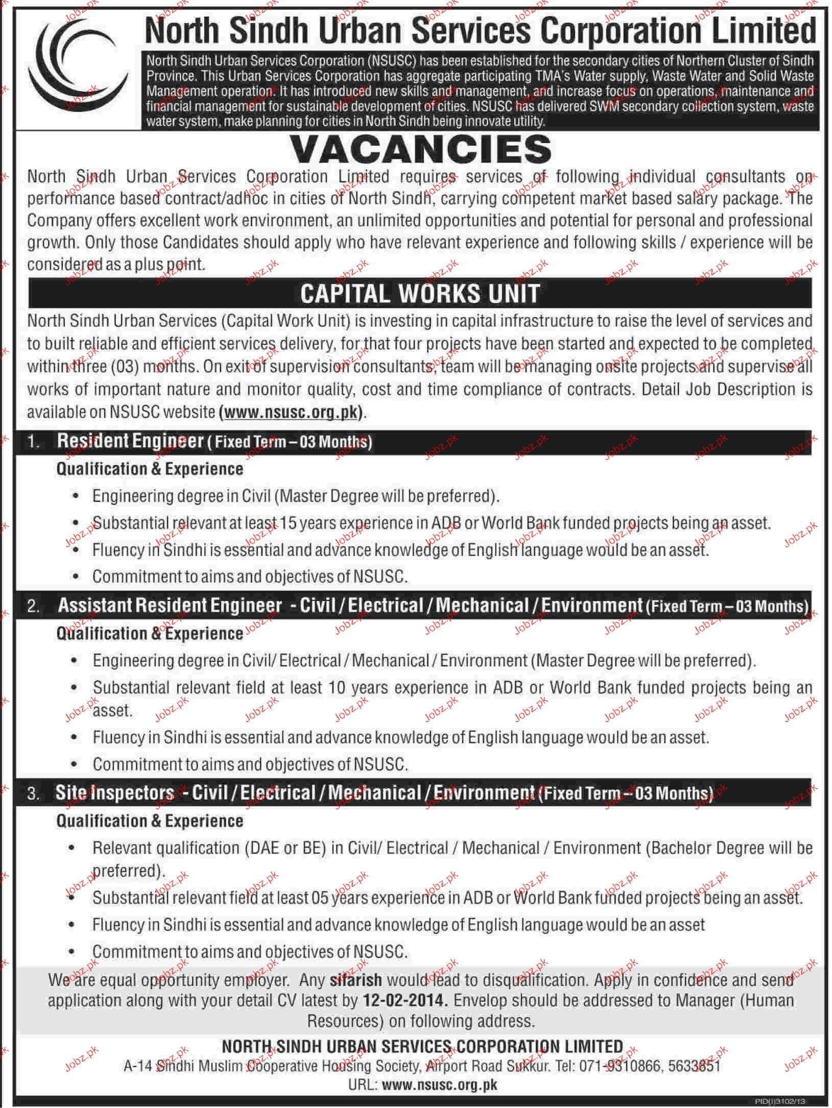 Resident Engineers, Assistant Resident Engineers Wanted