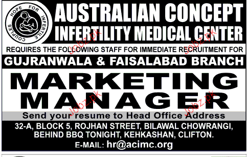 Marketing Manager Job Opportunity