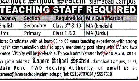 Teaching Faculty Job Opportunity