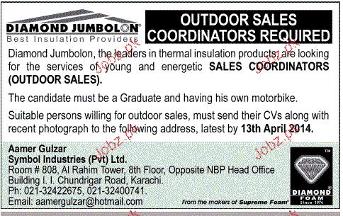 Sales Coordinators Job Opportunity