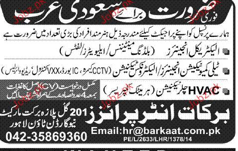 Electrical Engineers, Telecommunication Engineer Wanted