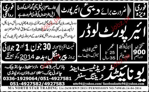 Airport Loaders Job Opportunity