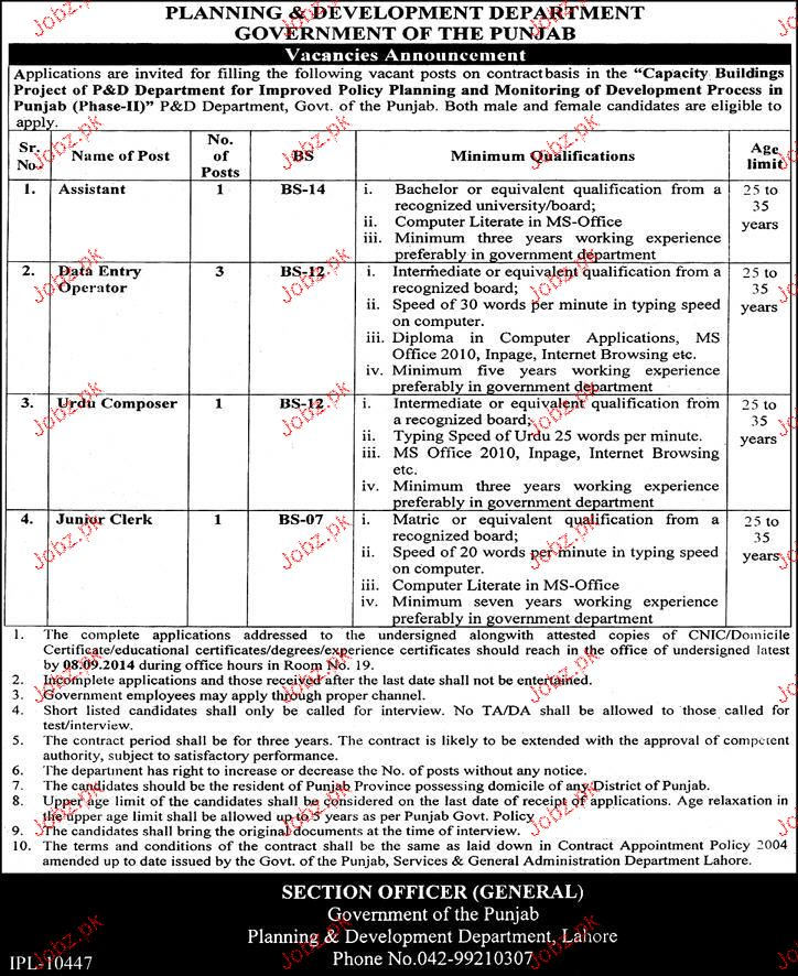 Assistants, Date Entry Operators Job Opportunity