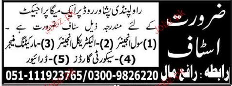 Engineers Civil, Electrical Engineers Job Opportunity