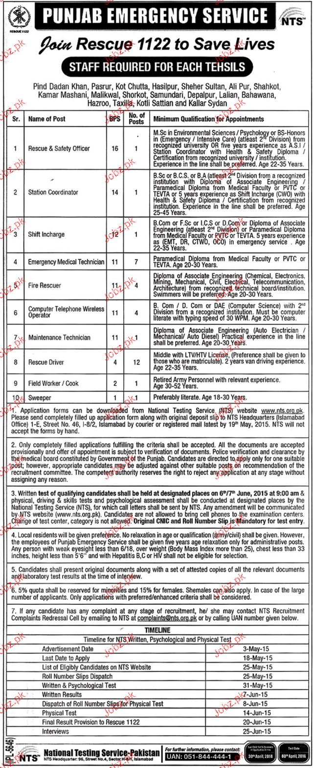 Safety Officer, Station Coordinator Job in Rescue 1122