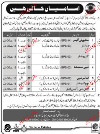 Security Officers, Carpenters, TinSmith Job Opportunity