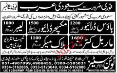 House Drivers, Mixture Drivers, Labors JOb Opportunity