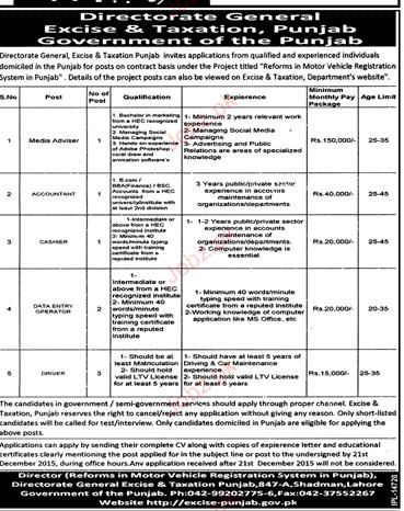 Media Advisers, Accountant, Data Entry Operators Wanted